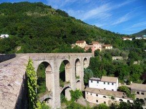 Acquedotto storico di Genova, ponte sul Rio Torbido anno 1623